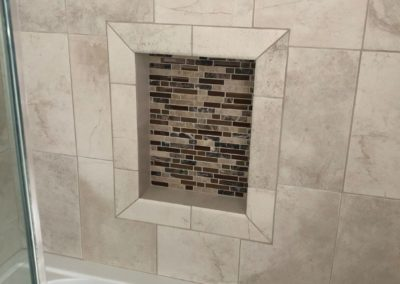 Custom Mosaic Shower Upgrade
