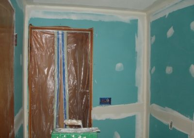 DAY 5 & DAY 6 - SHEETROCK / PREP FOR PAINT