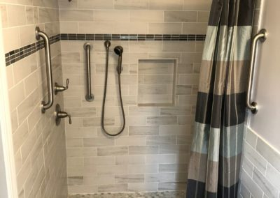 Handicap Barrier Free Accessible Bathroom Shower