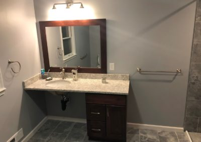 Handicap Barrier Free Accessible Bathroom Vanity