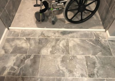 Handicap Barrier Free Accessible Bathroom Tile