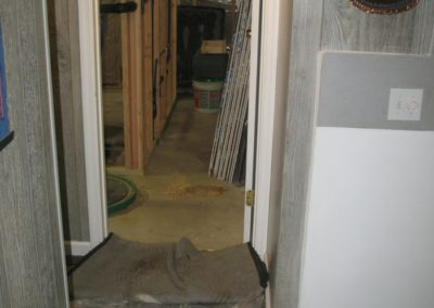 Basement process - Before