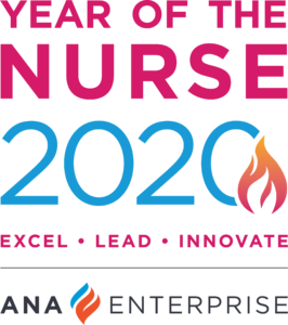 Year of the Nurse 2020. Excel. Lead. Innovate. ANA Enterprise.