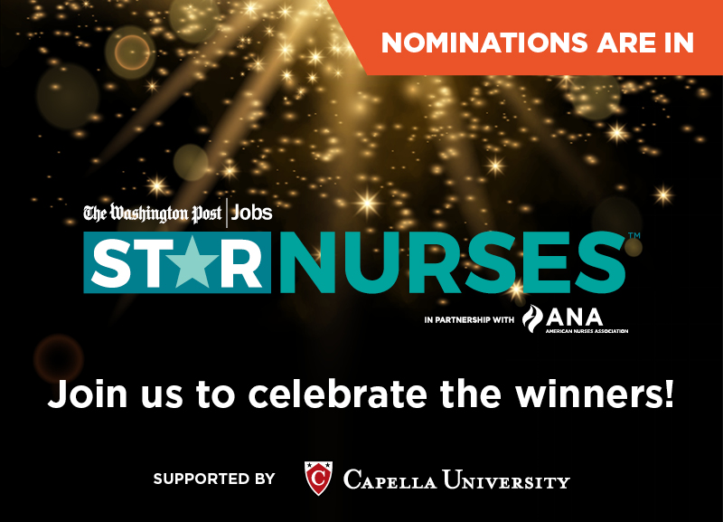 Star Nurses Event. Join us to celebrate the winners.