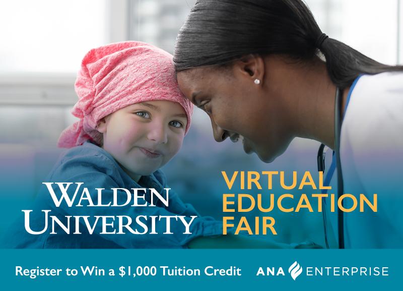 Walden University's Virtual Education Fair