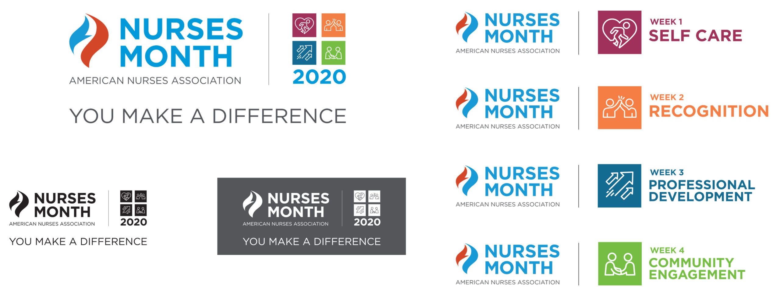 Nurses Month logos
