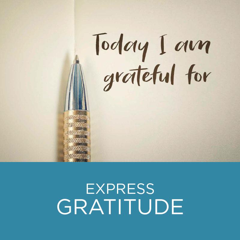 Express gratitude.