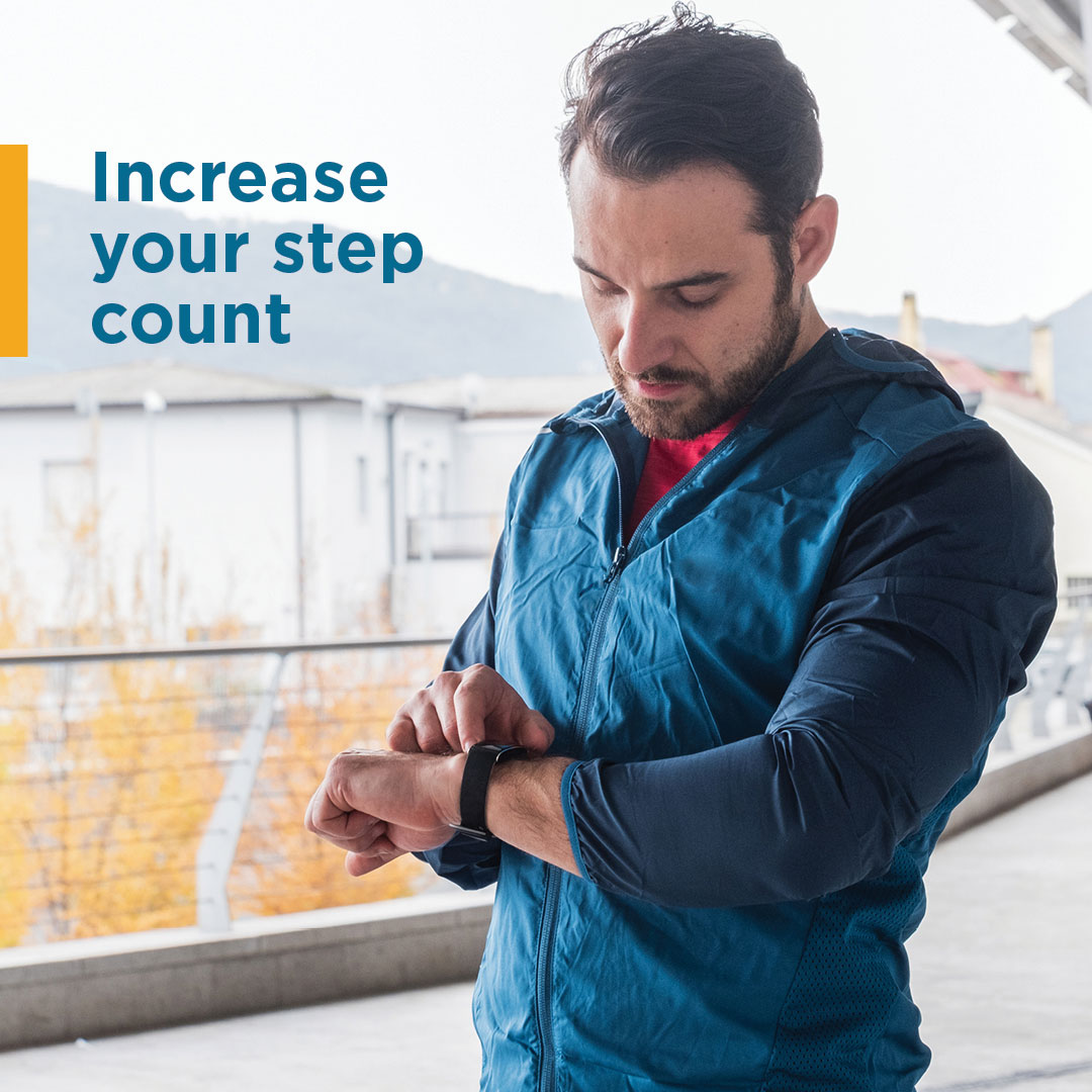 Increase Your Step Count