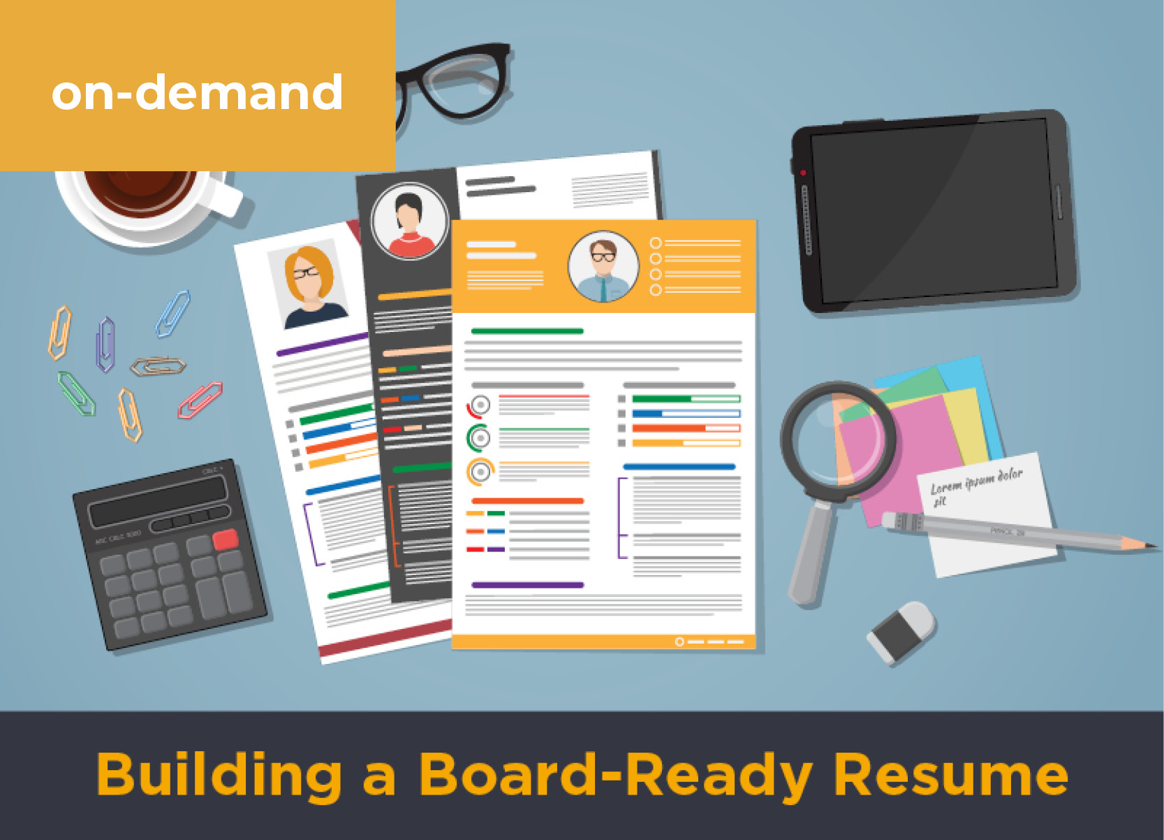 Building a Board-Ready Resume
