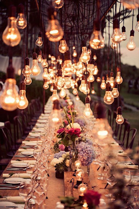 Outdoor Wedding Lighting Ideas How To