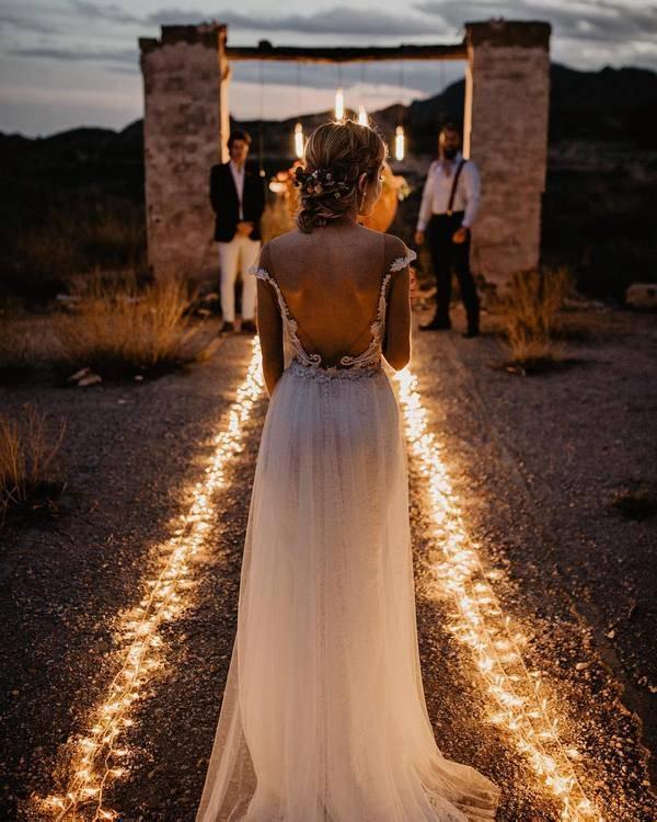 Outdoor Wedding Lighting Ideas: How To Light An Outdoor