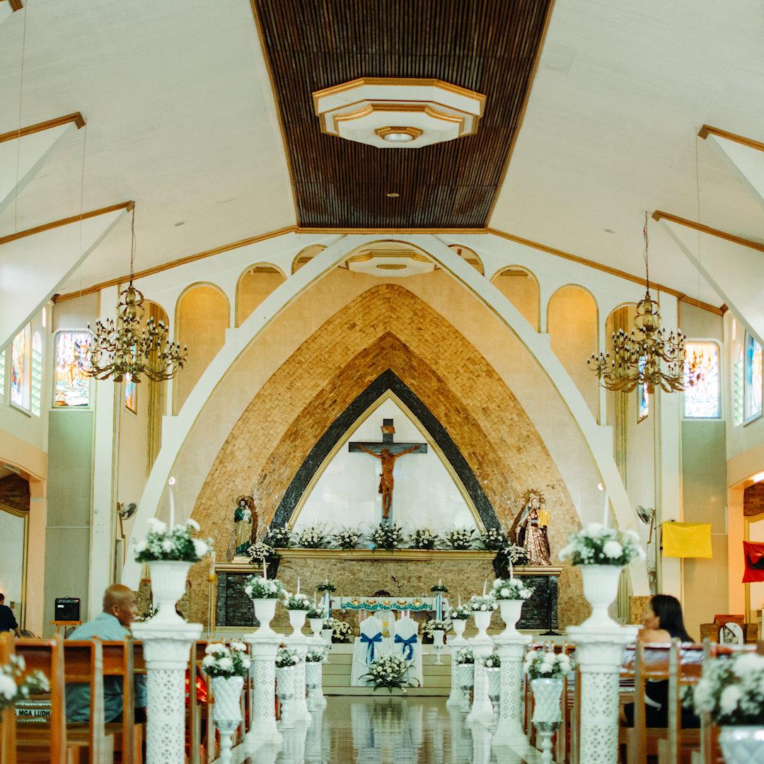 29 Simple Church Decorations Small Church Wedding Ideas