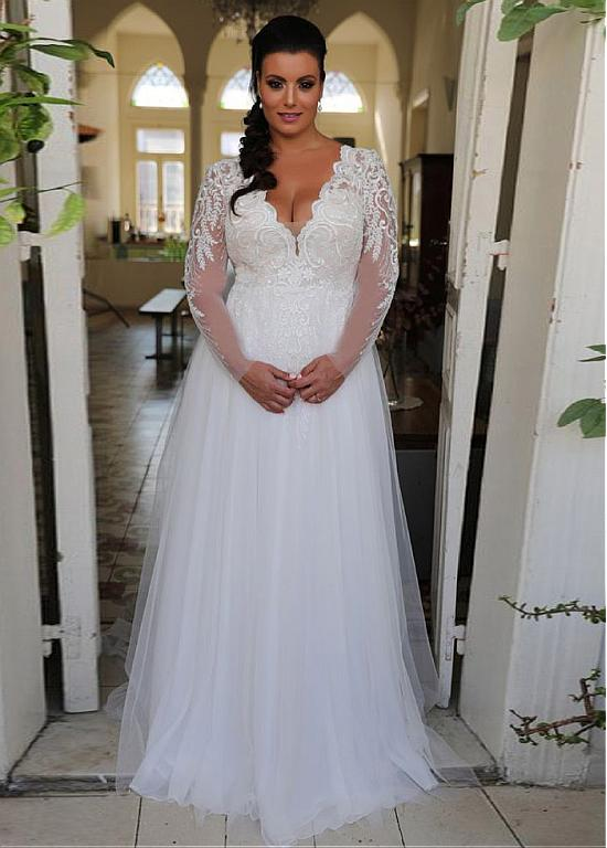 Cheap Plus Size Wedding Dresses: 10 Styles & Ideas Under $500
