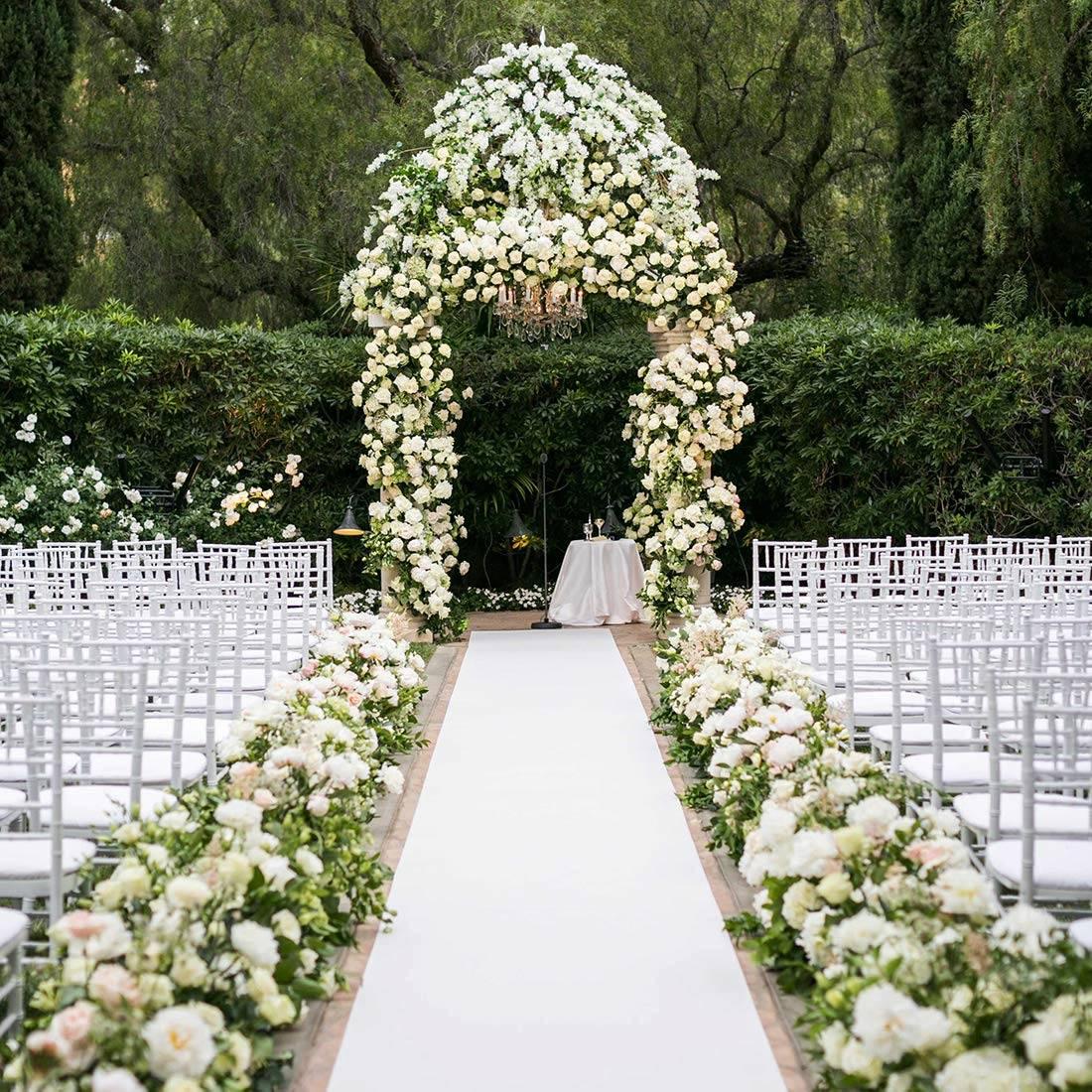 Flower Aisle Wedding: Best Wedding Aisle Runner Ideas For 2020: Pick The Perfect