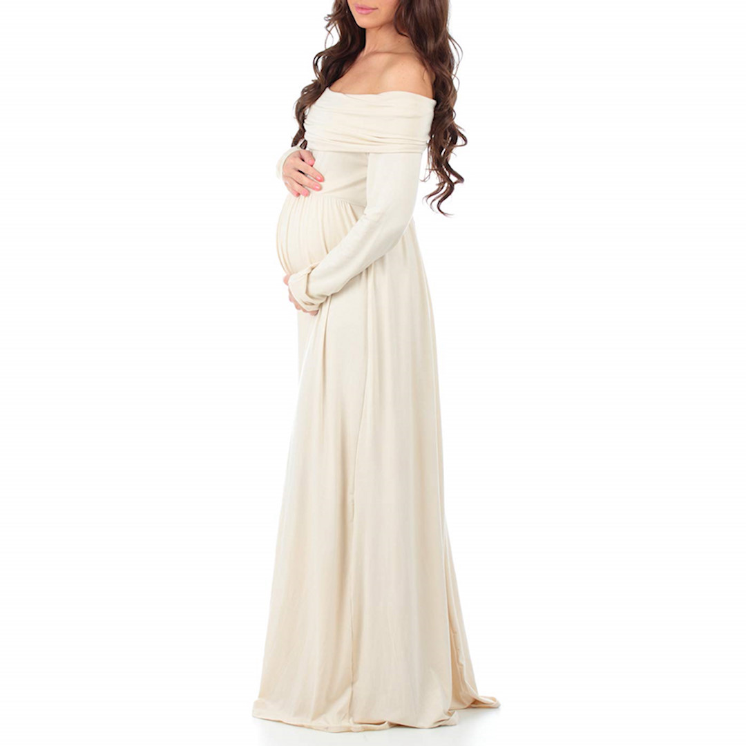 Maternity Wedding Gowns Under 100: 9 Maternity Wedding Dresses & Gowns For Expecting Mothers