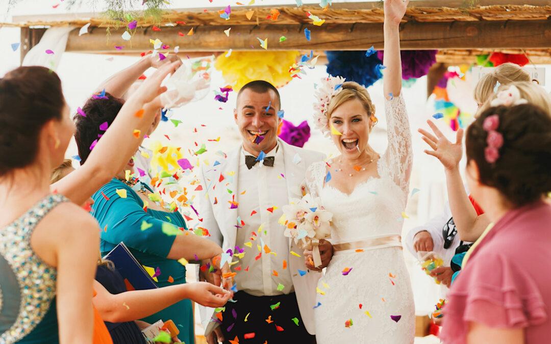 8 Environmentally Friendly Wedding Send Off Ideas & Things To Throw At A Wedding