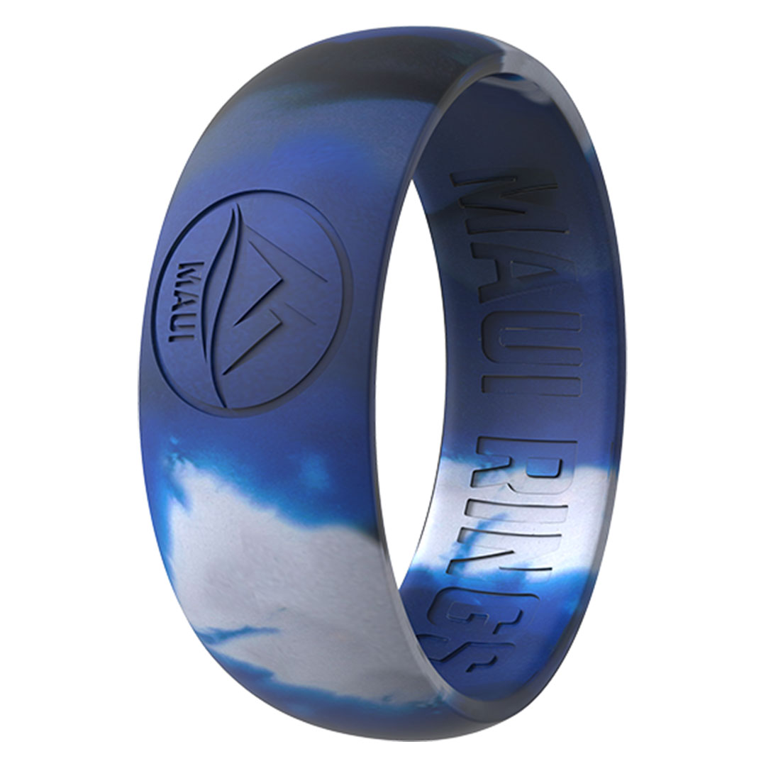 Hypoallergenic Comfortable Safety Rubber Ring Unisex Sturdy Exercise Ring Medical Grade Ideal Silicone Wedding Ring Gift for Him Her TUF Silicone Ring for Women Men Rubber Wedding Band