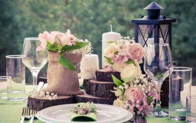 Best Rustic Wedding Centerpieces