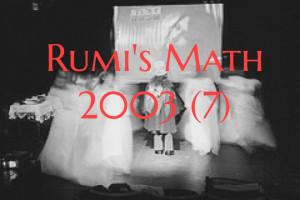 RUMI'S MATH