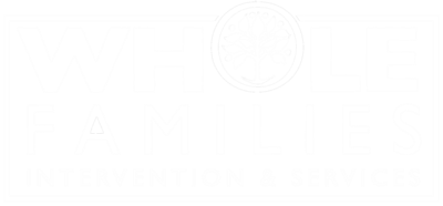 whole families interventions logo for professional interventionists