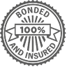 bonded and insured logo, intervention services