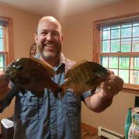 George Wells Fishing Trips Boy Lake Bluegill Fishing
