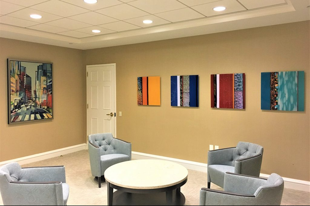 Corporate Art LLC - Corporate installation