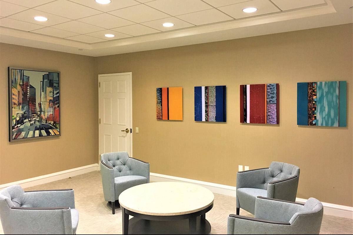 Corporate Art LLC - Corporate installation