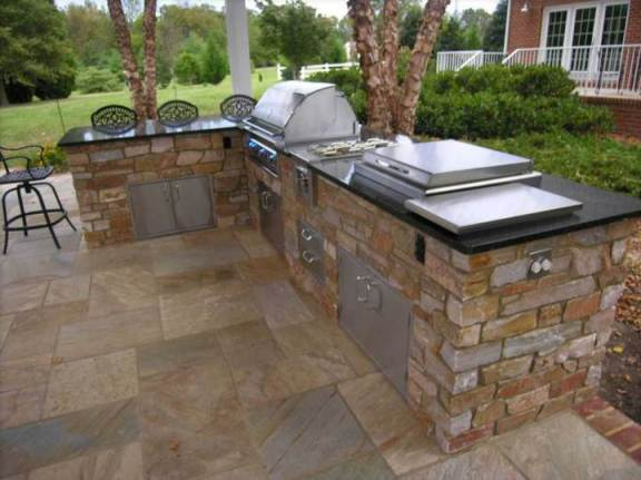Schwake Outdoor Kitchen