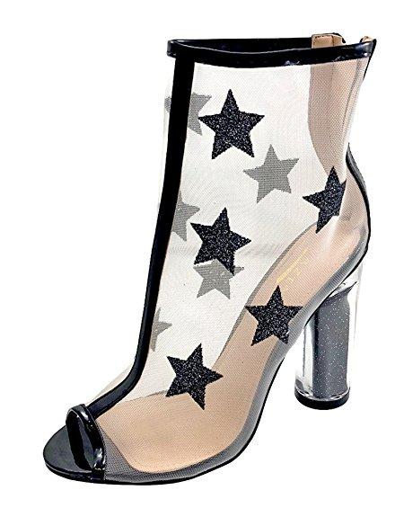 peep toe boots, peep toe booties