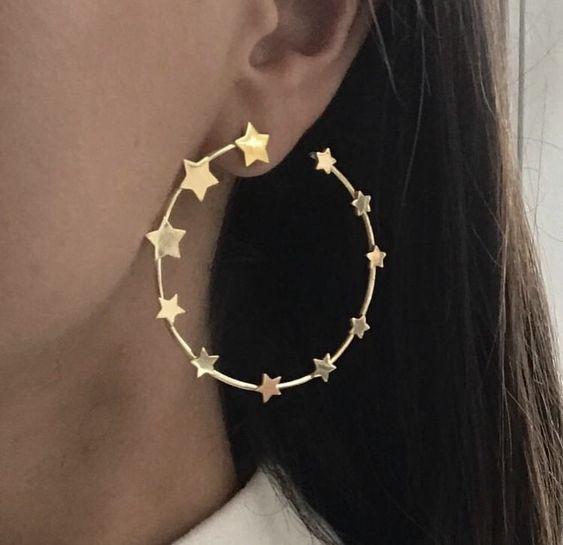 accesorios de luna y estrellas