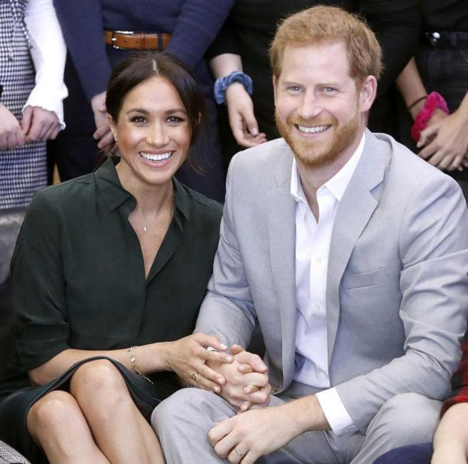Meghan y Harry esperan su primer hijo