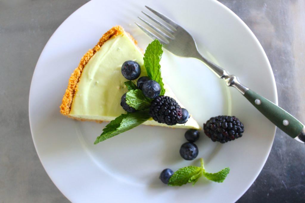 cheesecake de mojito