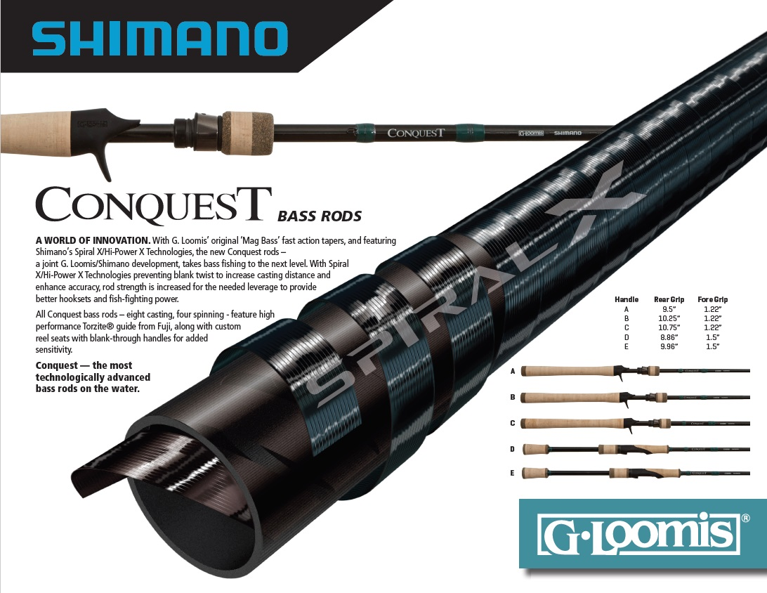 Conquest G.Loomis Shimano