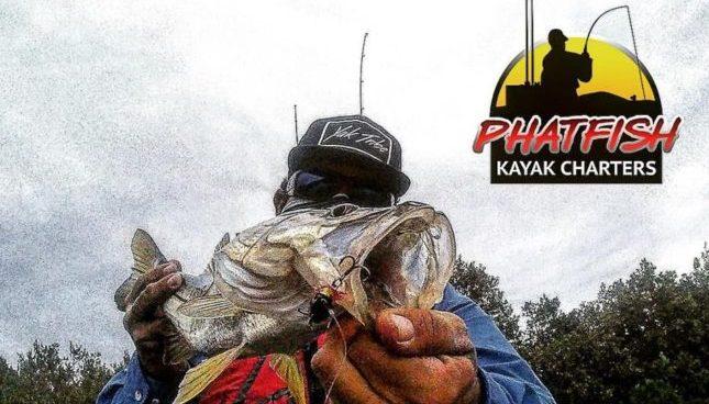 Derick Burgos of Phtafish Kayak Charters in Tampa Florida
