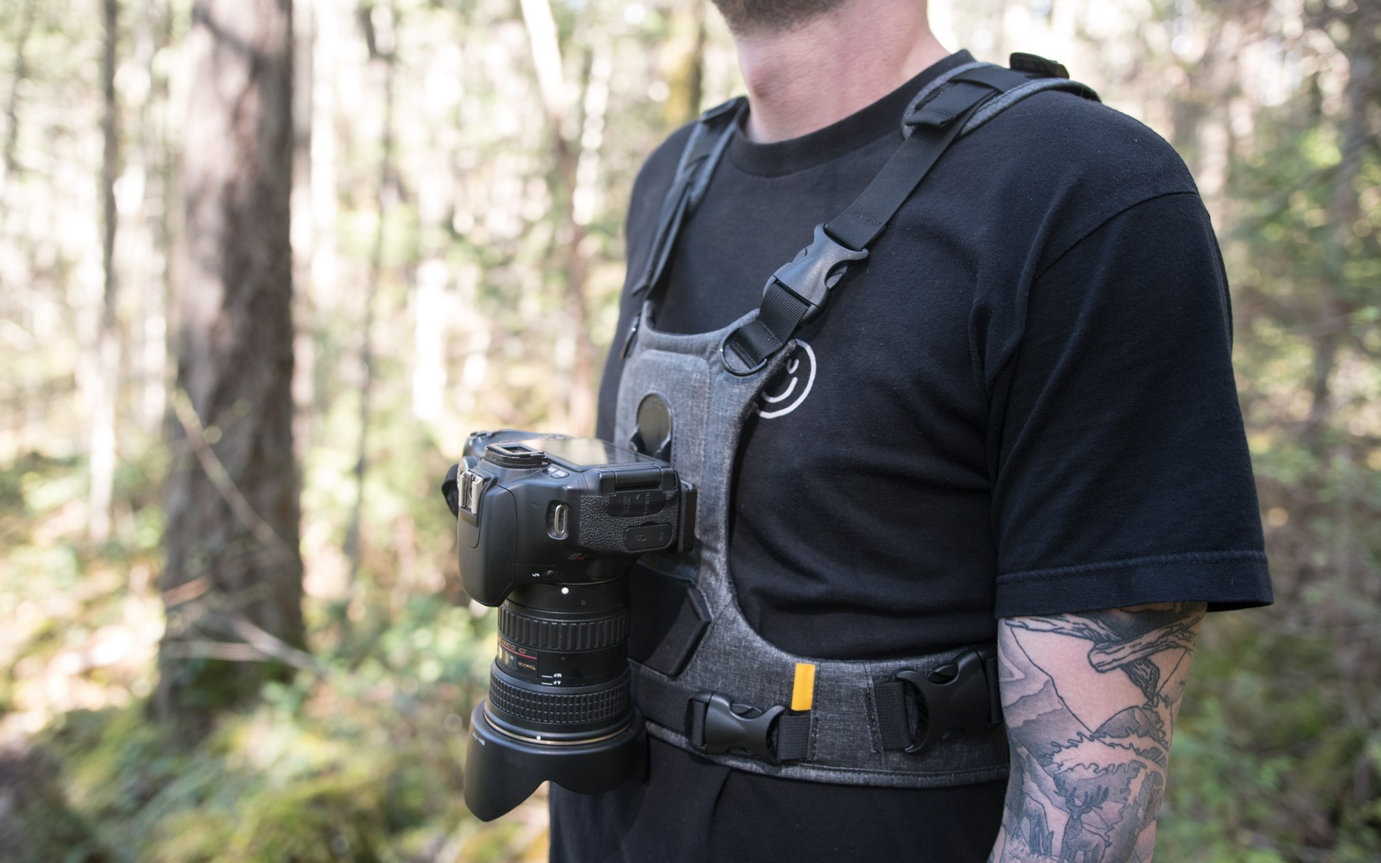 Cotton Carrier Camera Harness