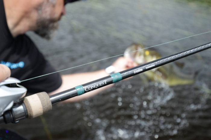Conquest Bass Rods