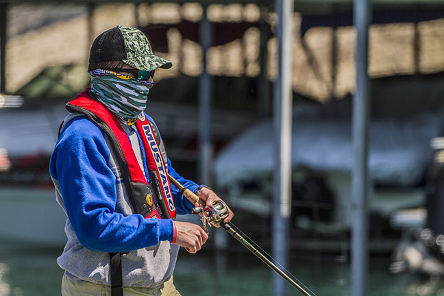 BUFF College ACA Support Fishing Payne Outdoors