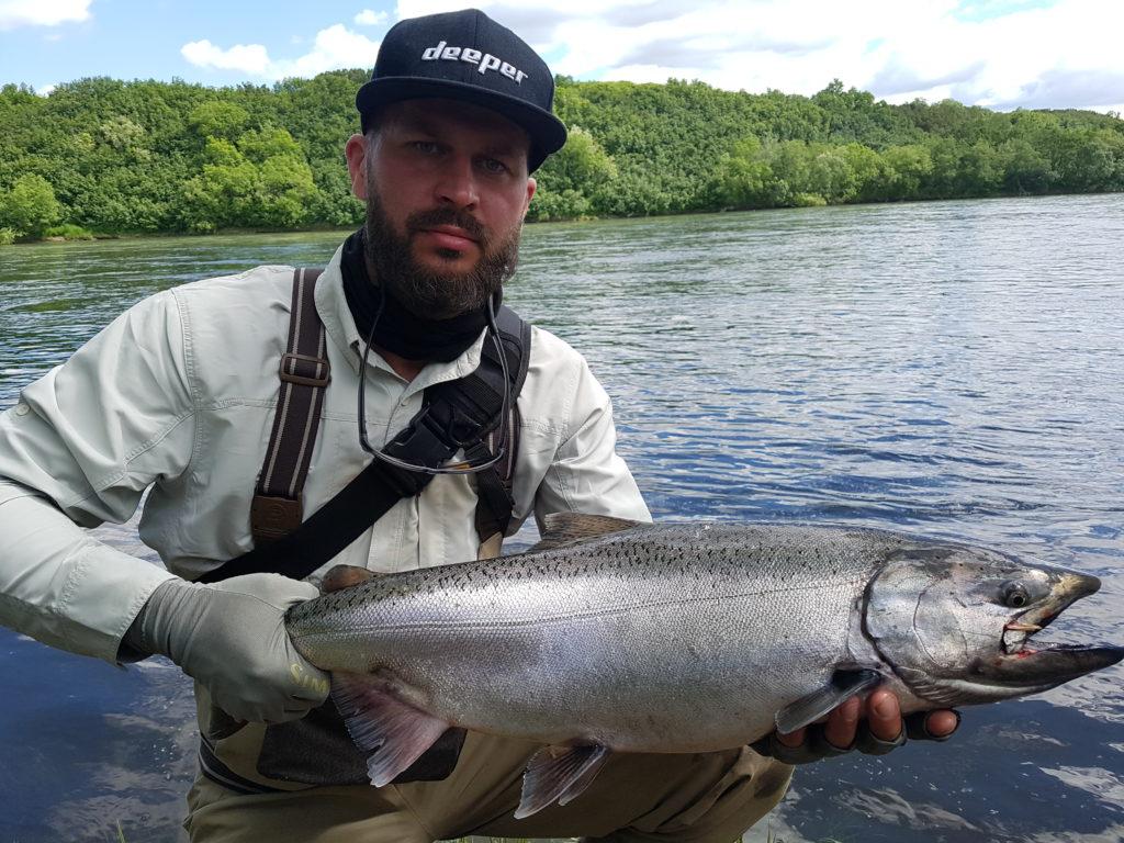 Big Salmon Fishing Kamchatka Russia