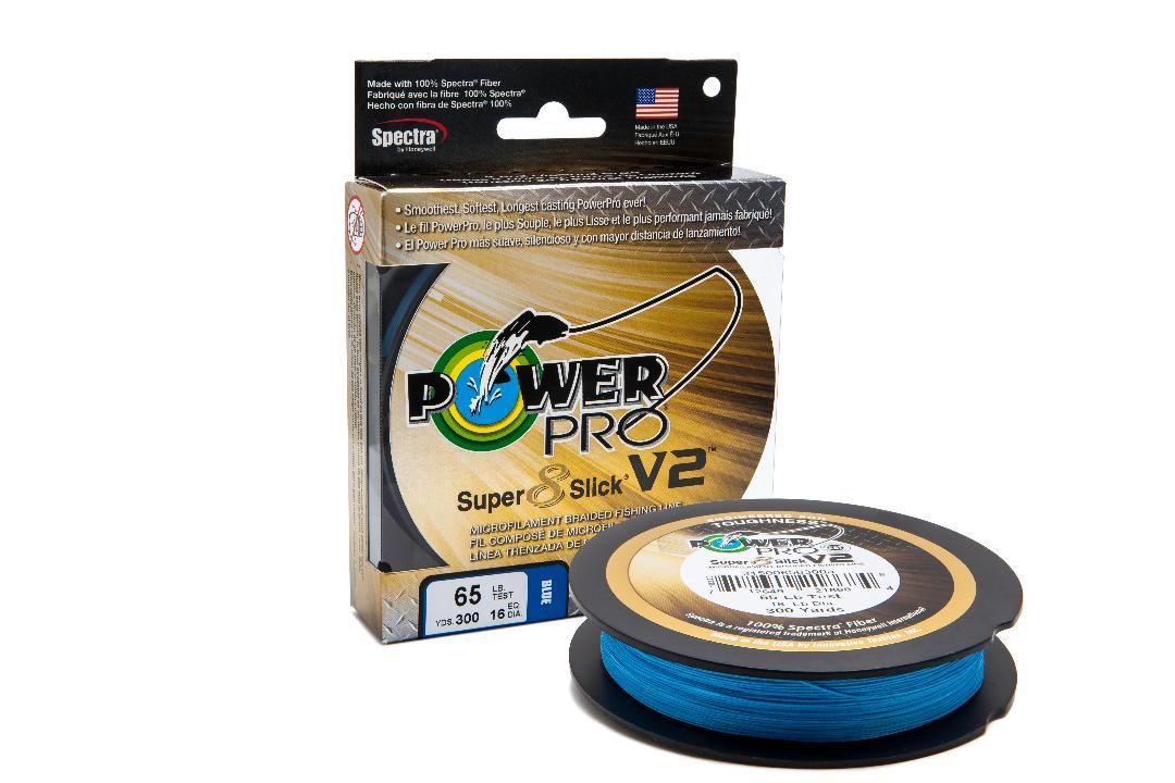 PowerPro Super8Slick V2 Braid