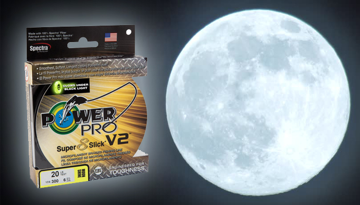 PowerPro S8Sv2 - Moon Shine Braid Glows