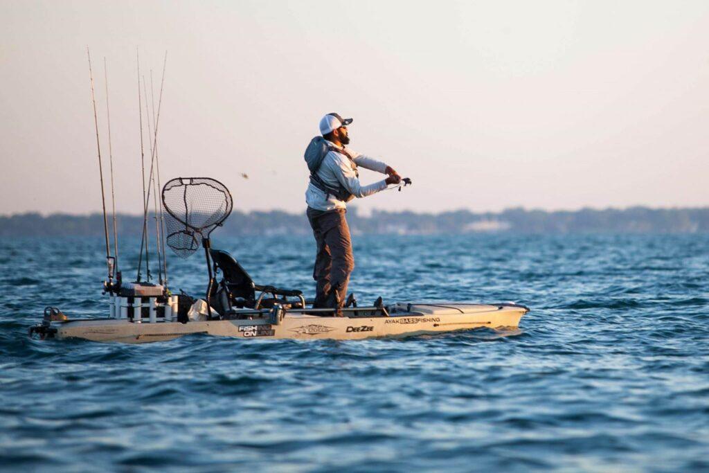 Eric Siddiqi Winner's Circle Hobie BOS St. Clair Sniper Kayak Fishing Payne Outdoors