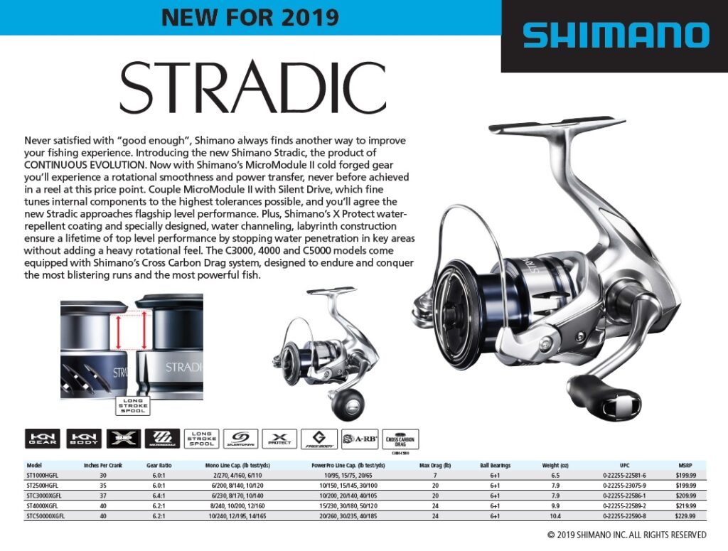 Shimano Stradic FL Spinning Reel - ICAST 2019 Payne Outdoors Chris Payne Kayak Fishing