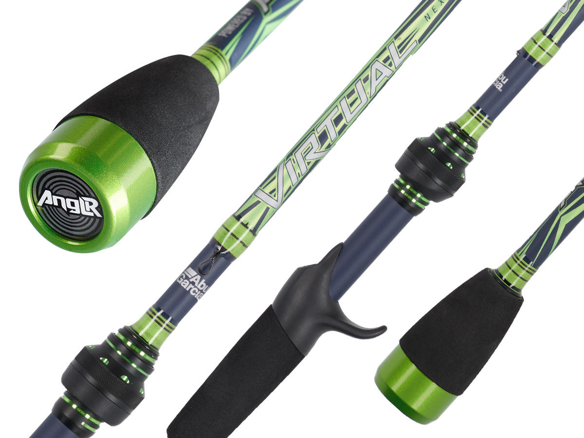 Abu Garcia Virtual bluetooth rod with ANGLR ICAST 2019