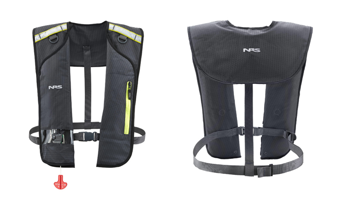 review NRS Matik Manually Inflated PFD Payne Outdoors