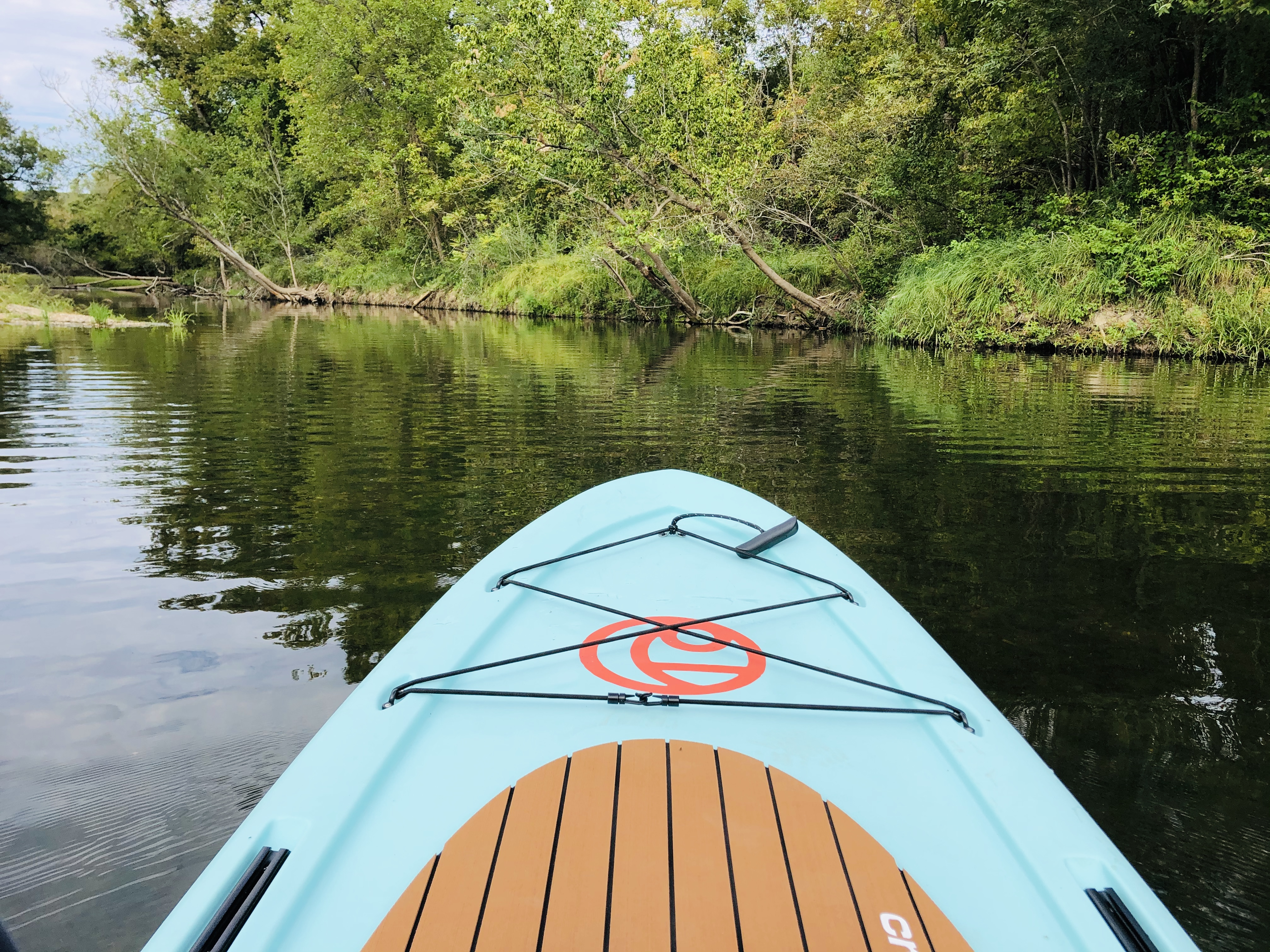 Crescent SUP+ Review Payne Outdoors Stand Up Paddleboard Rotomolded Made in the USA