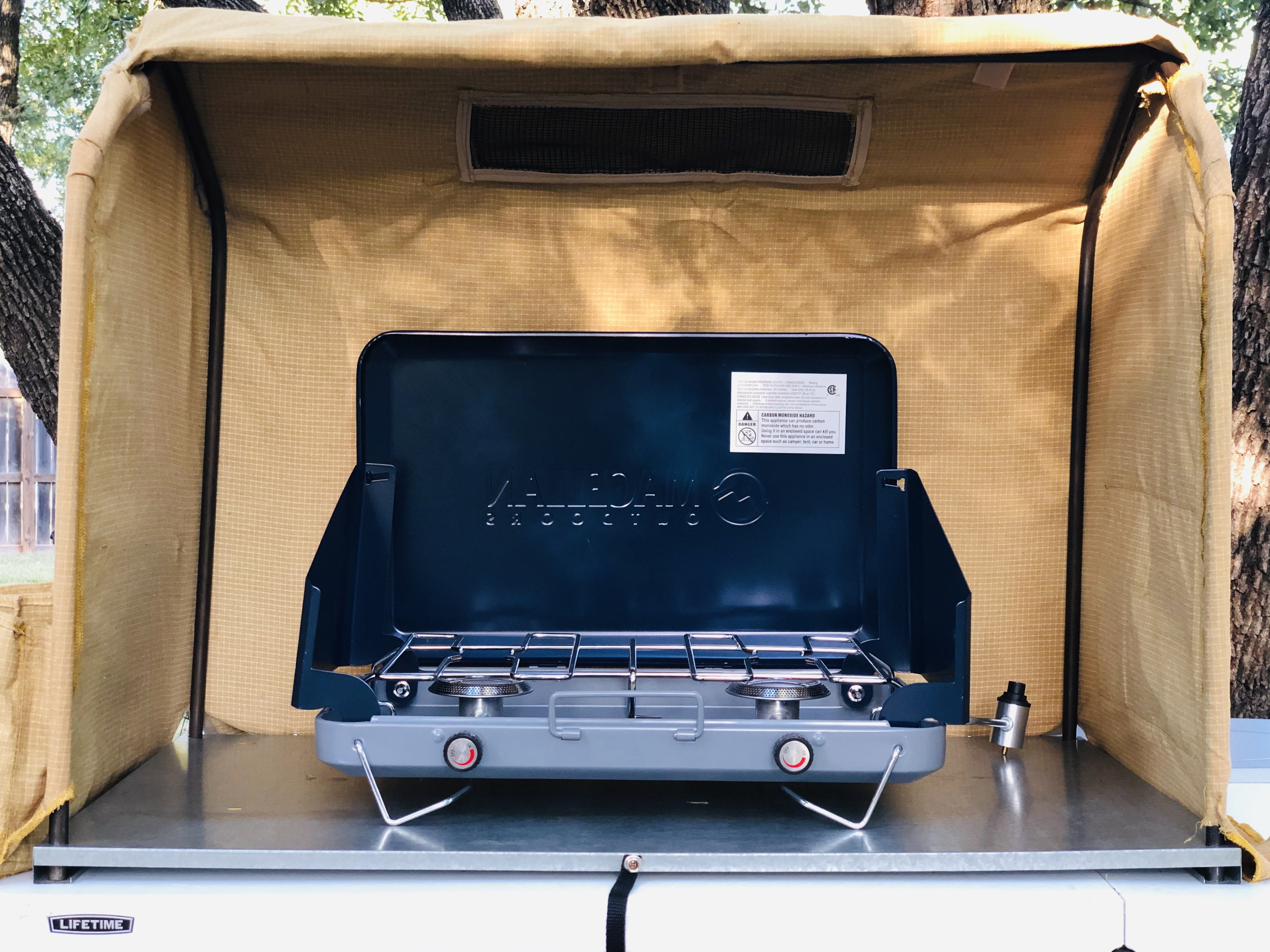 Wind Tamer Camp Stove Companion Review Payne Outdoors