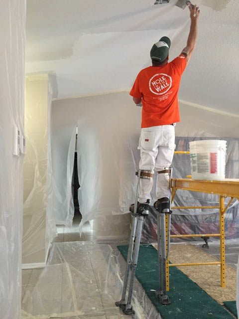 Request a Quote - Hole in the Wall Drywall Repair