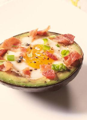 Avocado Eggs Boats