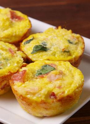 Cauliflower Breakfast Muffins